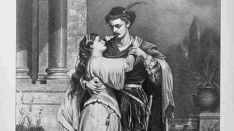 1879 poster for Romeo and Juliet.