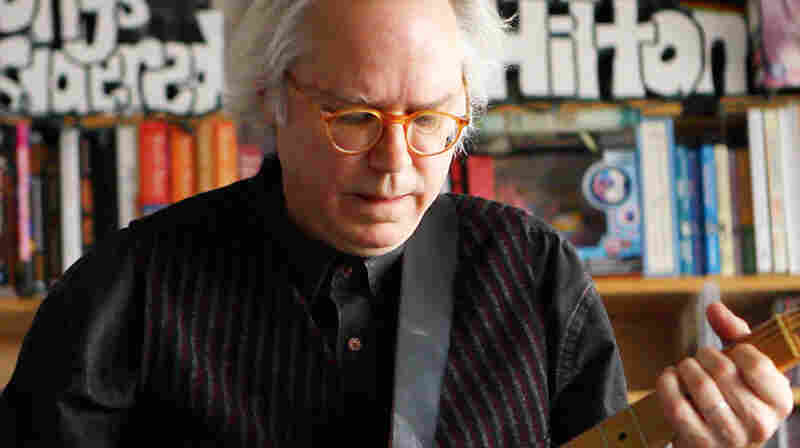 Bill Frisell plays a Tiny Desk Concert at the NPR Music offices on December 16, 2011.