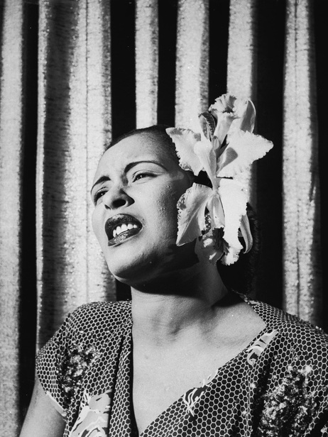 Billie Holiday, early 1950s.