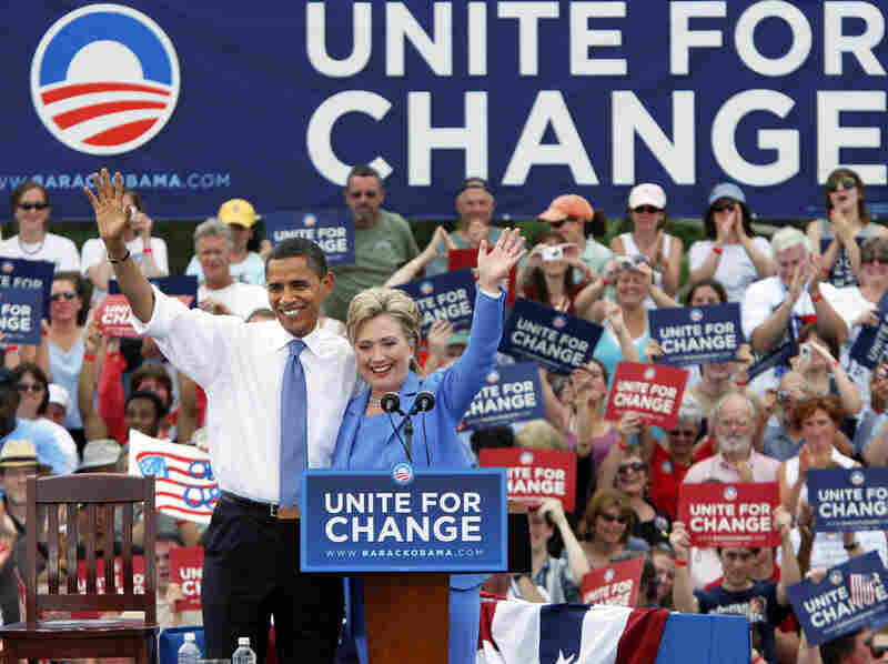 There was the 'endless nastiness' between  Sen. Hillary Rodham Clinton of New York and Sen. Barack Obama of Illinois during the 2008 Democratic primary. Later, the two illustrated the possibilities of mending political fences. Obama and Clinton, now secretary of state, have worked together for more than three years.