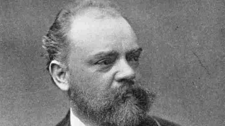 Czech Composer Antonin Dvorak (1841 - 1904).