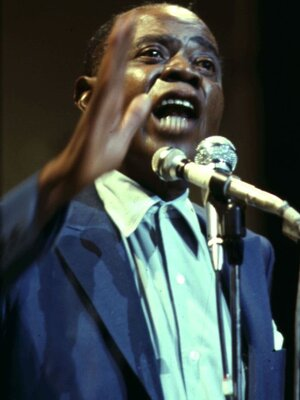 Louis Armstrong, ca. 1956.