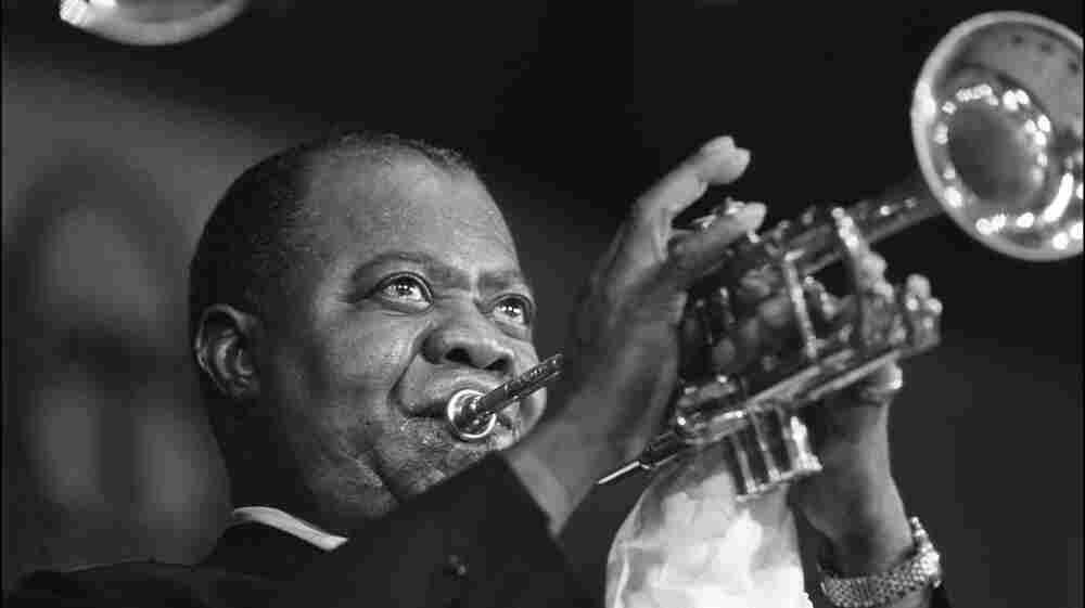 Louis Armstrong in Paris, June 5, 1965.