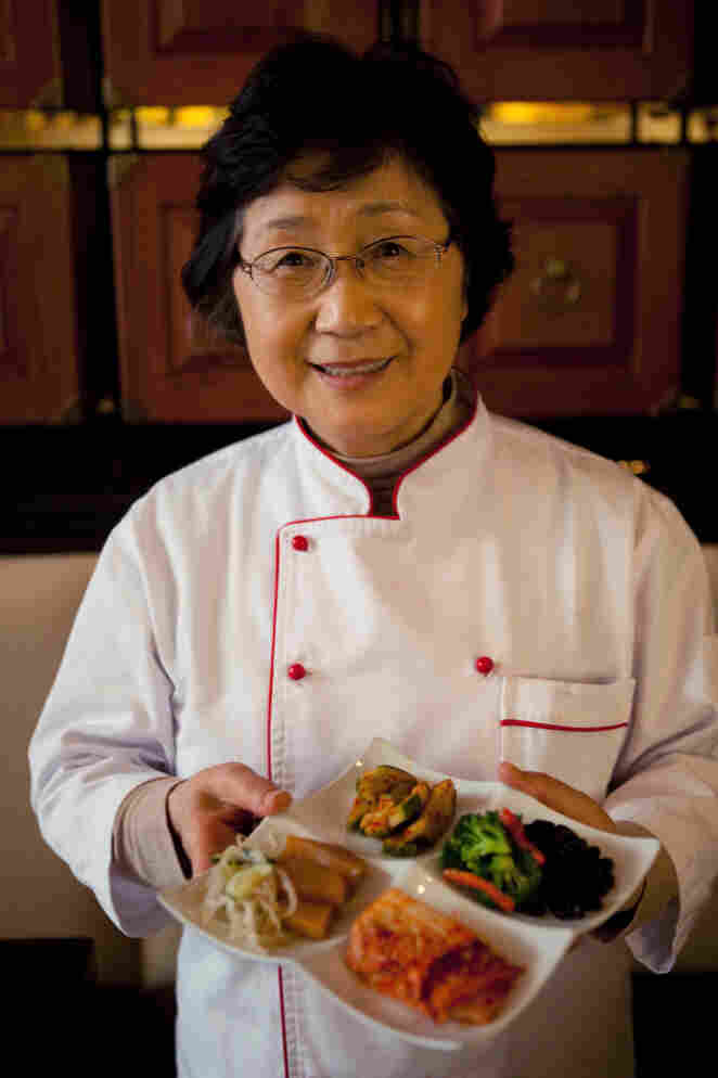Yesoon Lee makes jook and chicken soup for her children when they're ill.