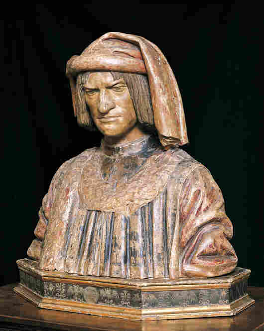 Lorenzo de' Medici (1449 –1492) was the de facto ruler of the Florentine Republic during the Italian Renaissance. Known as Lorenzo the Magnificent, he was a diplomat and politician, though his most lasting contribution was his patronage of artists who created masterworks.