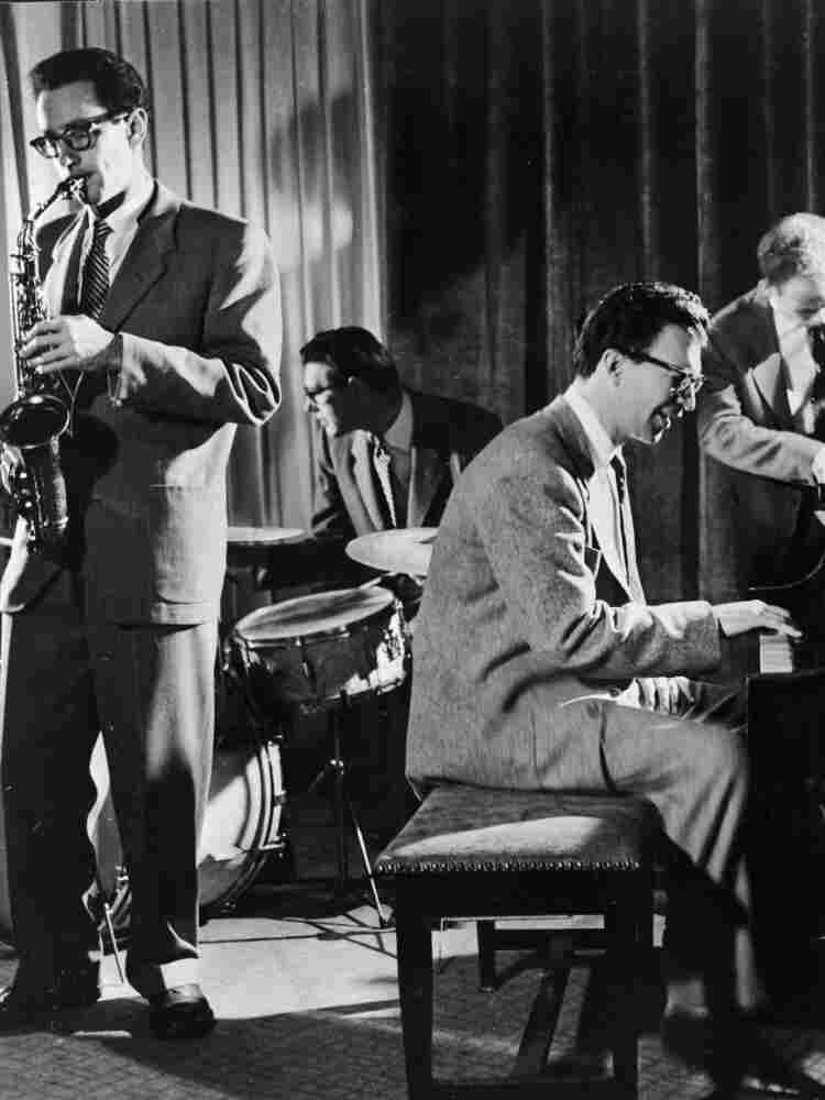 Paul Desmond with the Dave Brubeck Quartet.