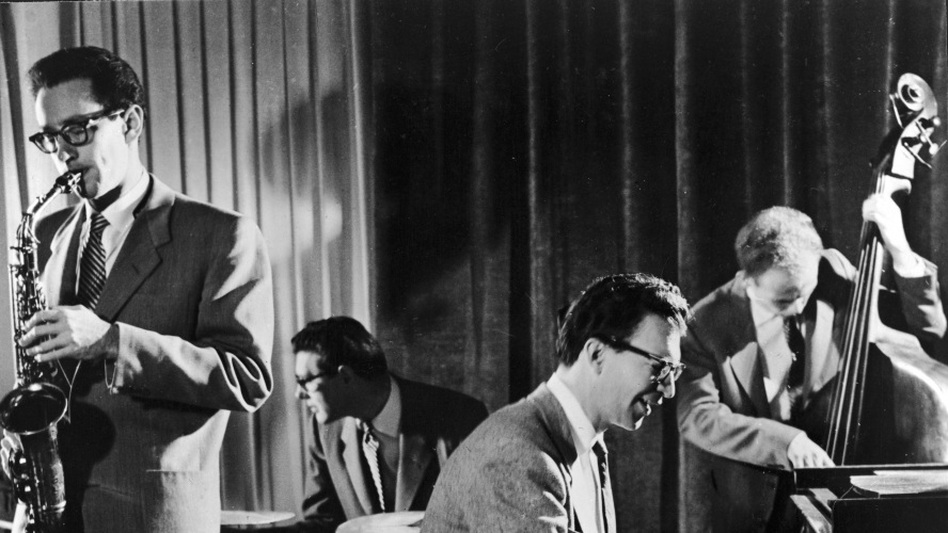 Paul Desmond with the Dave Brubeck Quartet. (Getty Images)
