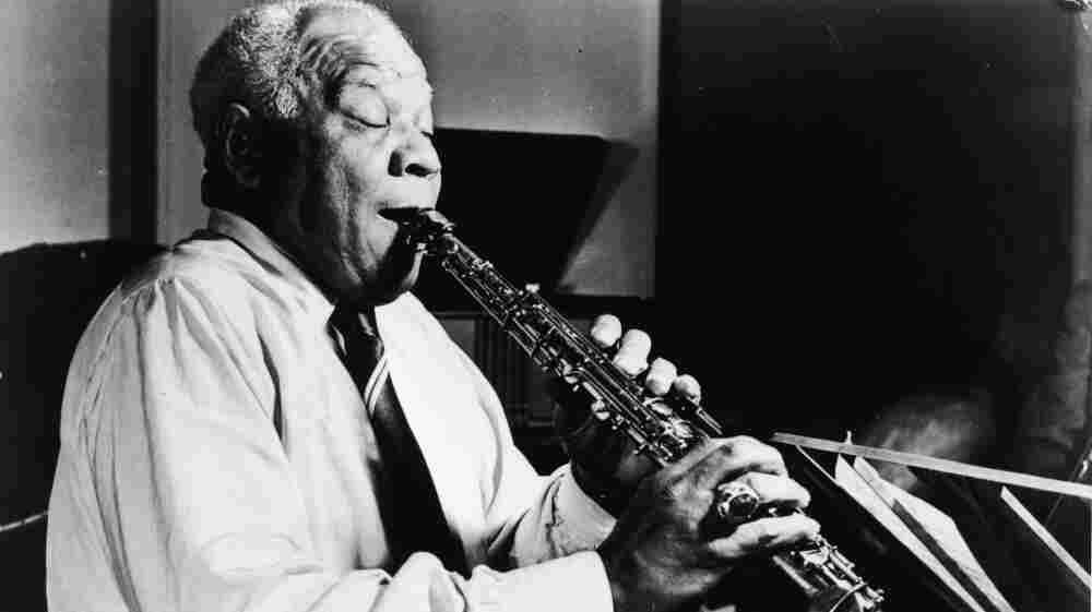 Sidney Bechet, early 1950s.