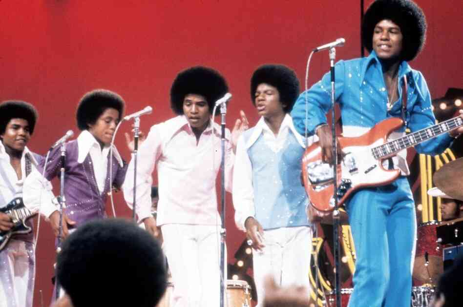 The Jackson Five on the show in the 1970s.