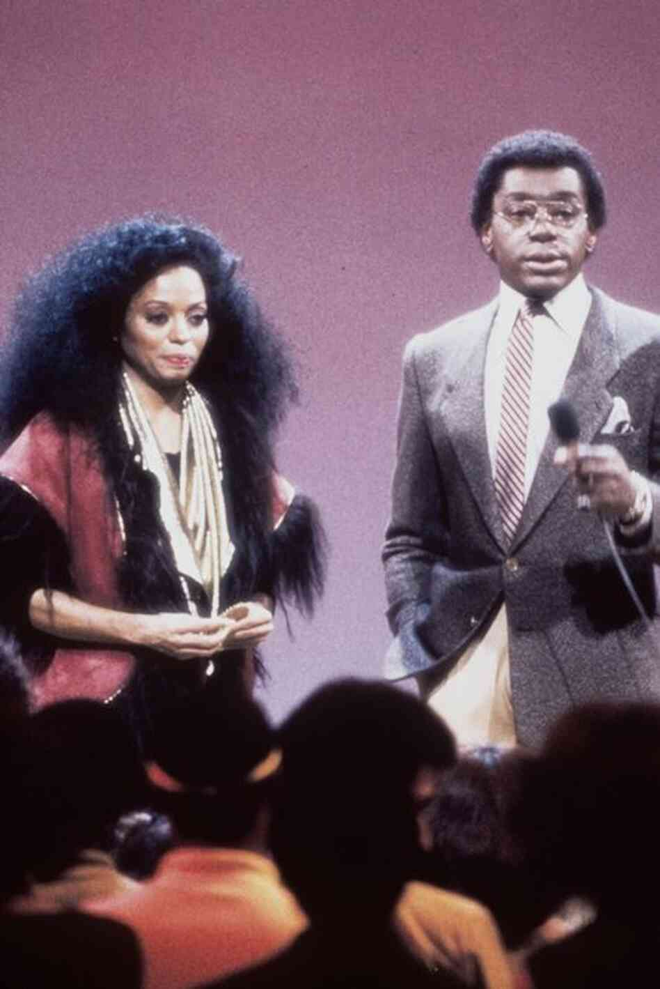 Diana Ross also appeared on the show, which offered a weekly update of music, style and dance moves from some of the top black artists of the '70s and '80s.
