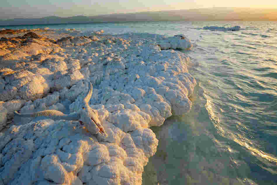 "Lake Assal marks Africa's lowest point, 512 feet below sea level. A Djibouti-based salt-production company calls the lake the ""largest undeveloped salt reserve in the world."""