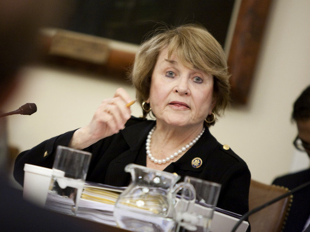 Rep. Louise Slaughter, D-N.Y., has worked for years on a bill to ban Congress from insider trading.