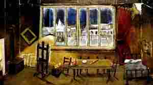 Set Design by Reginald Gray for the Opera La Boheme.