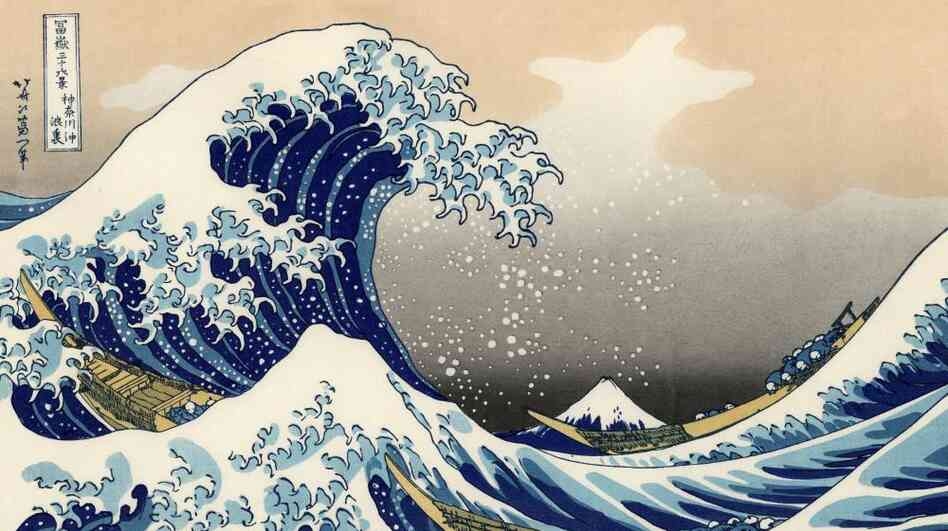 The Great Wave.