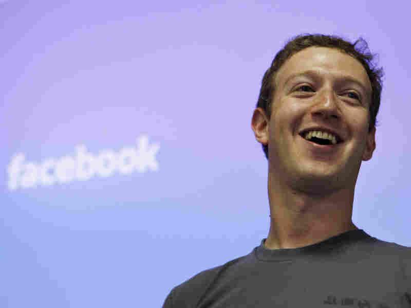 Facebook CEO Mark Zuckerberg in July 2011 at Facebook's former headquarters in Palo Alto, Calif.