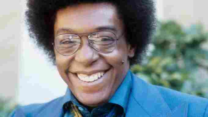 Don Cornelius posing for a portrait in 1973 in Los Angeles.