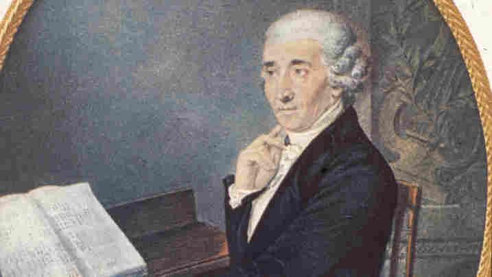 Portrait of Austrian composer Franz Joseph Haydn.