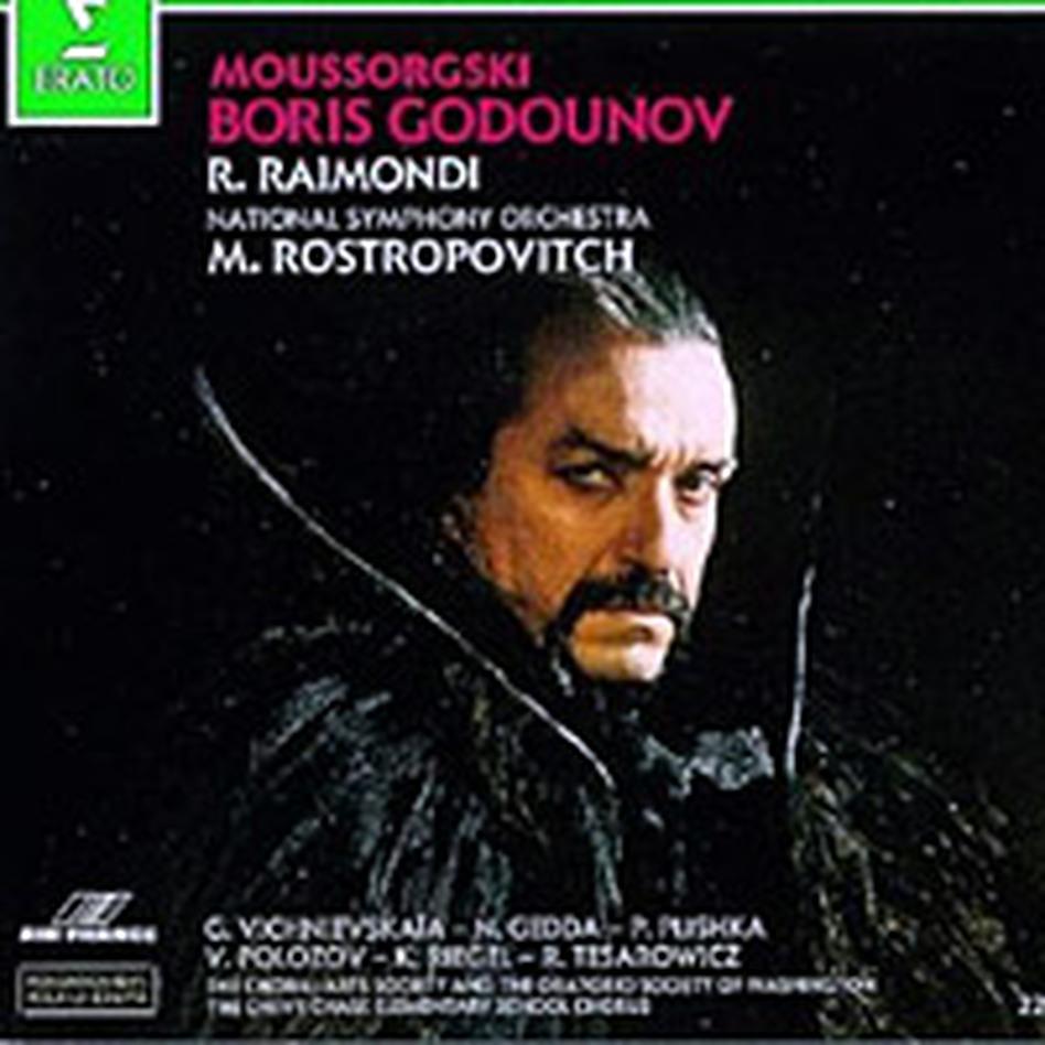 Mussorgsky's Boris Godunov.