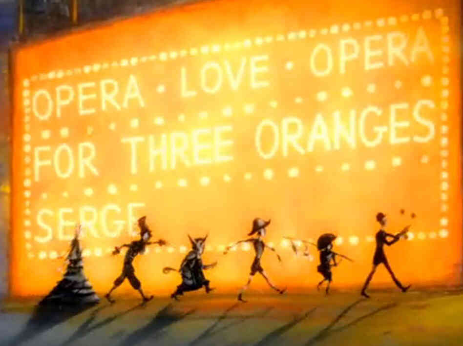 The animated short 'Fourth Orange' by director Julia Titova.