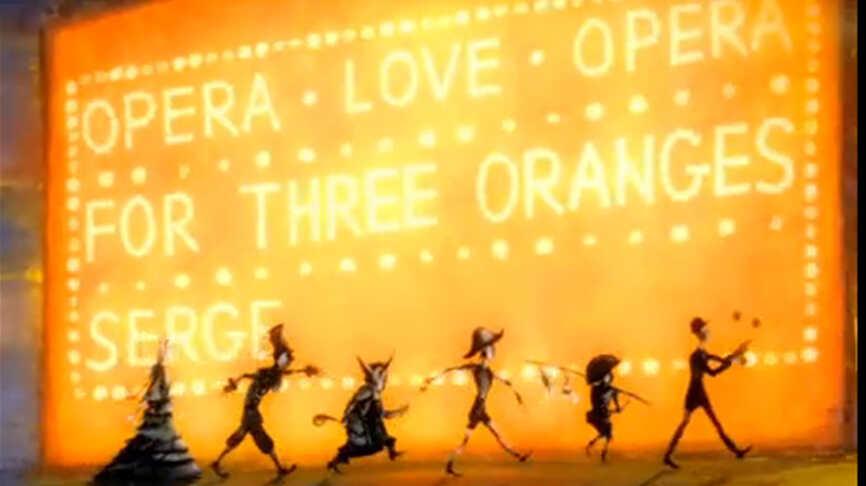 The 'Fourth Orange': An Animated Short On Prokofiev's Life