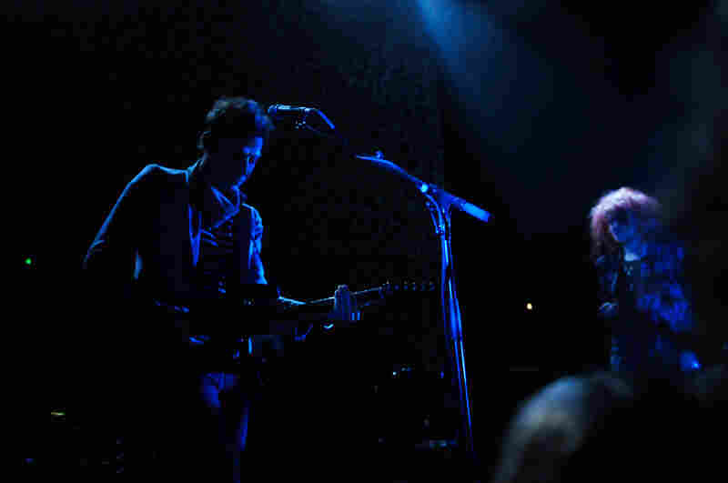 Though the band played songs mostly from their newest album, 2011's Blood Pressures, they threw in a good assortment of classic songs.