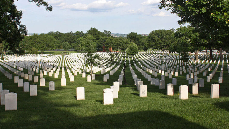 Arlington National Cemetery. (Wikimedia Commons)