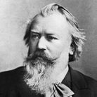 German Composer Johannes Brahms.