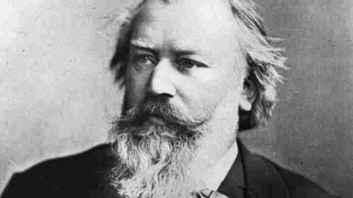 German Composer Johannes Brahms.