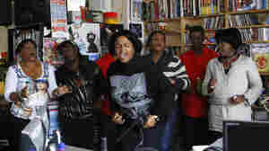 The Creole Choir of Cuba plays a Tiny Desk Concert at the NPR Music offices on October 18, 2011.