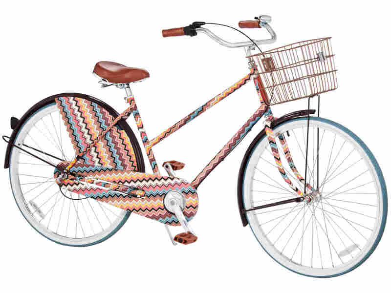 Design house Missoni created this bicycle and other products for Target last year. On the day of the launch, a huge spike in traffic crashed the retailer's website.