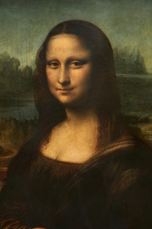 The original Mona Lisa is on permanent display at the the Musee du Louvre in Paris.