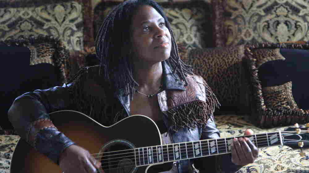 Ruthie Foster's new album is Let It Burn.