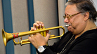 Arturo Sandoval playing a beautiful instrument, beautifully.