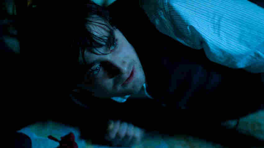 And Me Without My Wand: Solicitor Arthur Kipps (Daniel Radcliffe) battles demons within a
