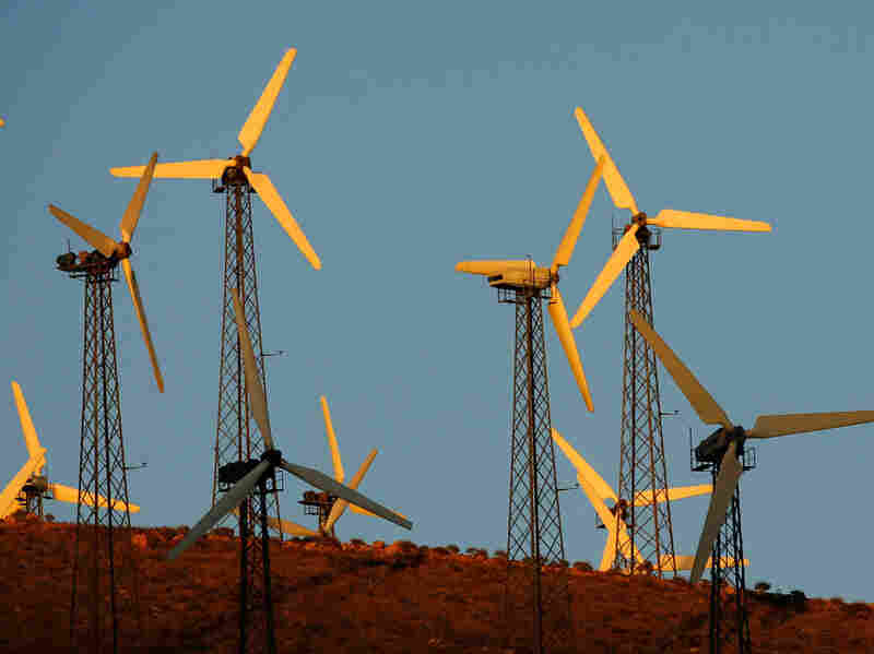 Wind power advocates say that even if wind is slightly more expensive than natural gas, utilities will still want it in their mix. Windmills aren't subject to variable fuel prices, so the cost of production is predictable, something that's not true for natural gas.