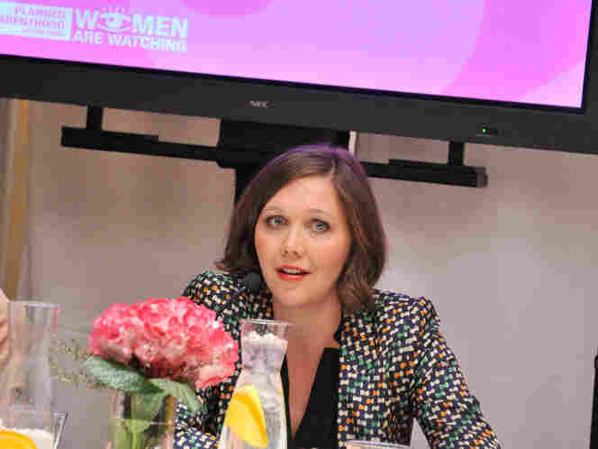 Actress Maggie Gyllenhaal speaks at Planned Parenthood Action Fund's Playing Politics With Women's Health: The 2012 Election And Why It Matters on Jan. 27, 2012 in New York City. The Susan G. Komen for the Cure foundation has recently cut funding to Planned Parenthood.