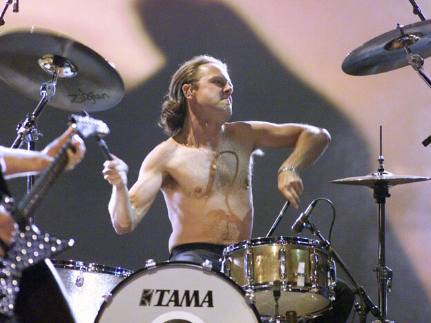 Lars Ulrich of Metallica at MTV Movie Awards 2000 at Sony Pictures Studio in Culver City, CA on June 03, 2000 (Photo by Frank Micelotta/ImageDirect)