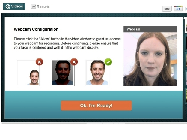Affectiva's Web tool watches viewers watch ads and collects information about their emotions. Participants use the camera on their computer to provide their facial expressions to Affectiva.