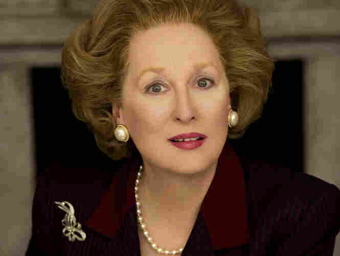 Meryl Streep stars as former British Prime Minister Margaret Thatcher in Phyllida Lloyd's The Iron Lady.