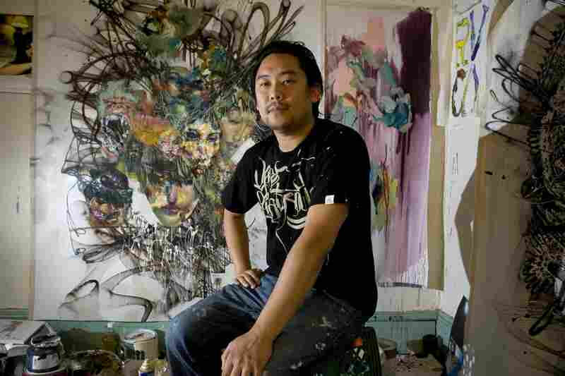 Artist David Choe was paid in stock when he painted the graffiti in Facebook's original office space in Palo Alto, Calif. The New York Times estimates his stake now at more than $200 million.