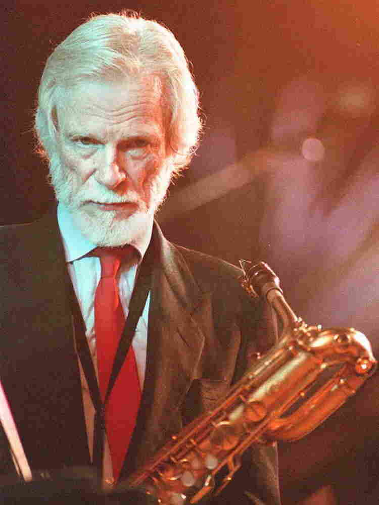 Gerry Mulligan in Marciac, France, Aug. 13, 1993.