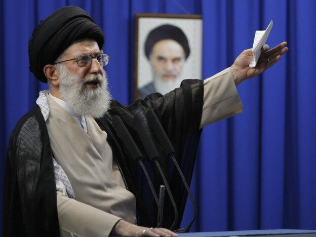 Iran's Supreme Leader Ayatollah Ali Khamenei in 2009.