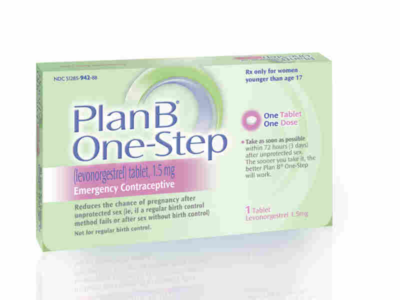 Plan B is available over the counter for people 17 and older.