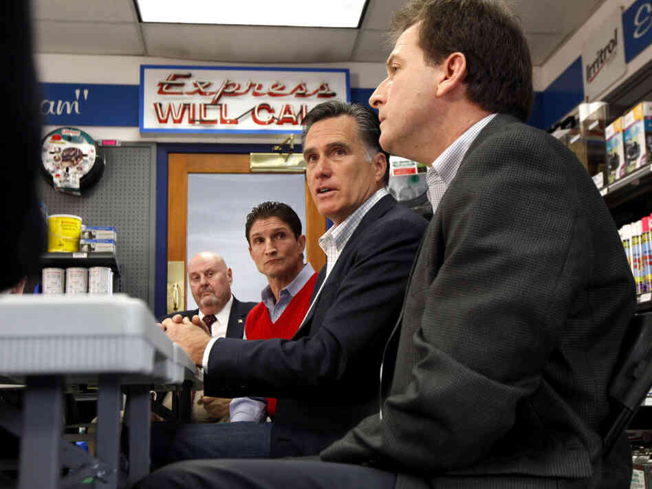 Mitt Romney, at an economic roundtable in Sparks, Nev., Friday, Feb. 3, 2012.