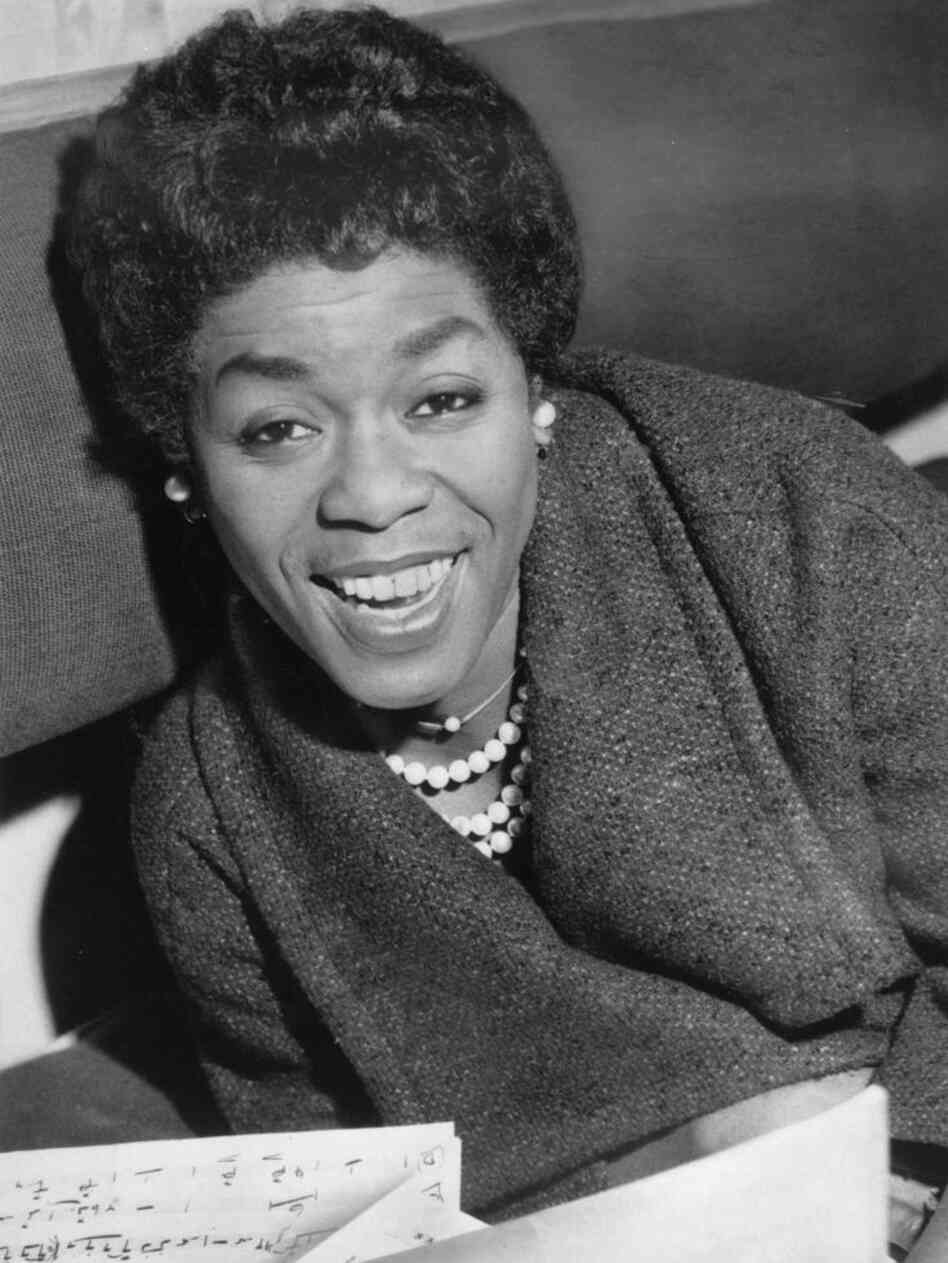 Sarah Vaughan, Jan. 22, 1960.