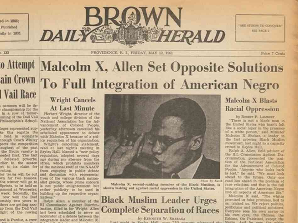 Malcolm X - Free Essays, Term Papers, Research Paper, and Book