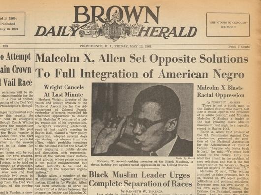 Lost Malcolm X Speech Heard Again 50 Years Later Npr