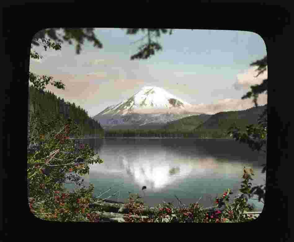 Mount St. Helens from Spirit Lake