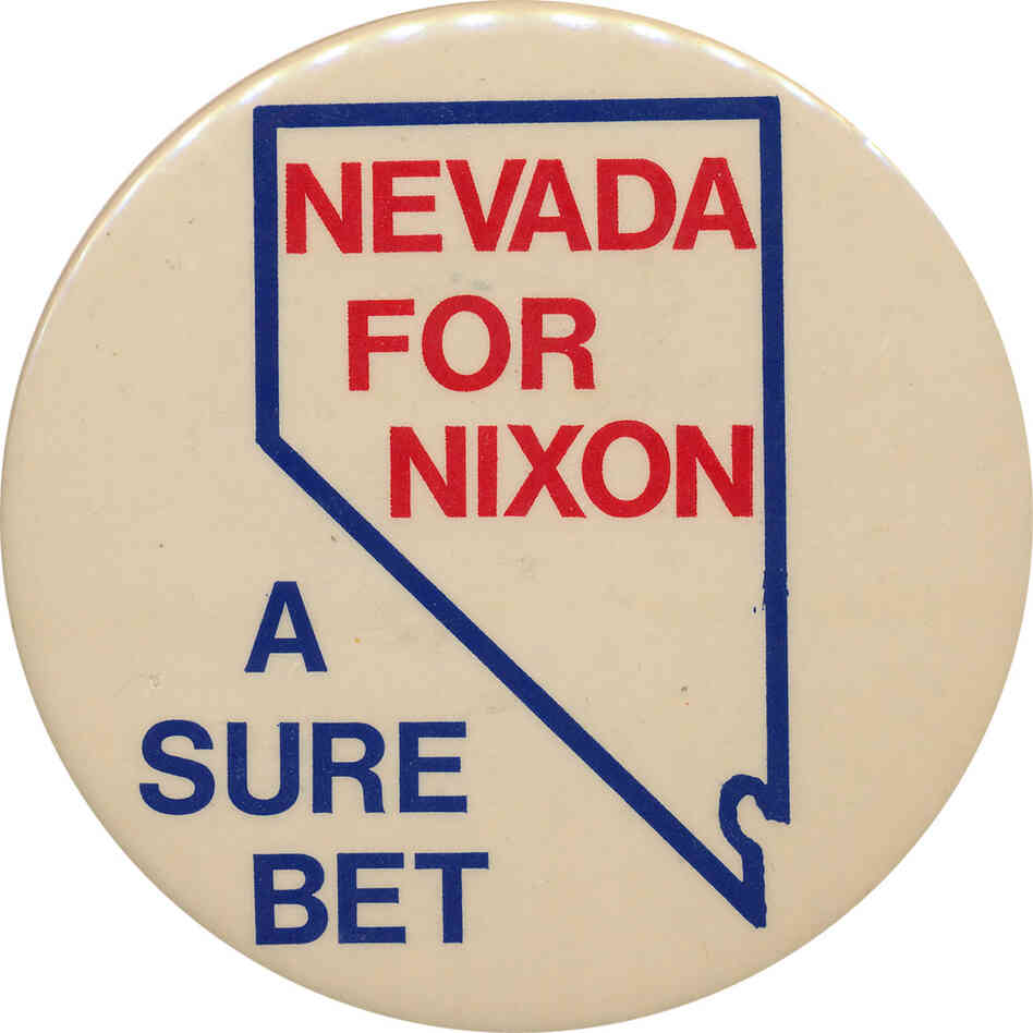 A true swing state: Nevada voted GOP for president six times in a row between 1968 and 1988. But Clinton won it twice and Obama carried it last time.