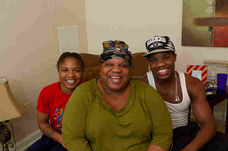 Douglas and her brother, Antoine, are the first brother-sister duo to qualify for Olympic team trials for boxing. Their parents' drug addiction problems sent the pair in and out of foster homes, but today, Tyrieshia accompanies her mom, Annette, to Narcotics Anonymous meetings in Washington, D.C.